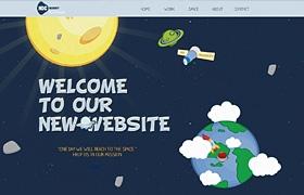 網站建設之滾動的稚嫩設計