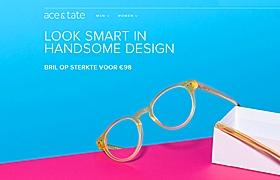網站建設之Ace眼鏡設計