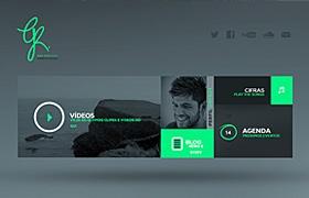 網站制作之個人網站設計