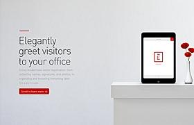 網頁設計之訪客登記APP頁面制作