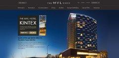 網站制作之THE MVL酒店